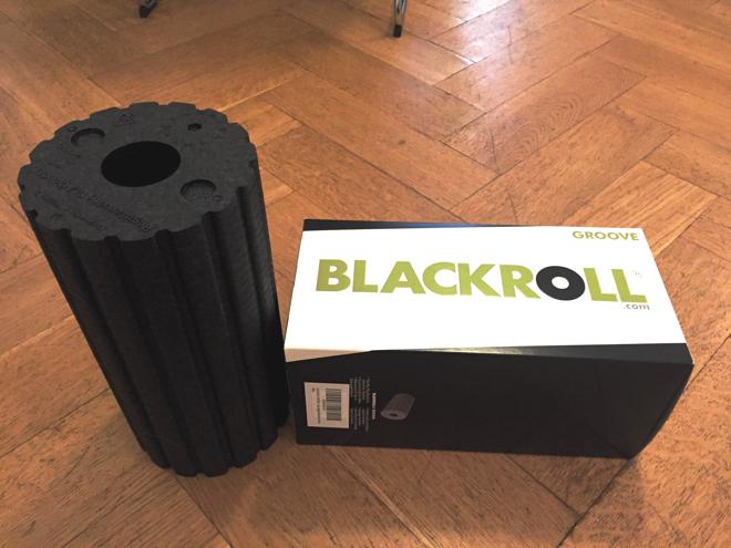 Blackroll - Faszienrolle mit Karton